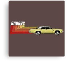 Classic Car Groovy Canvas Print