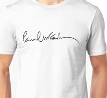 paul mccartney signature Unisex T-Shirt