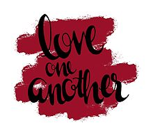Love One Another by Katie Thomas