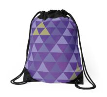 May the tri-force be with you Drawstring Bag