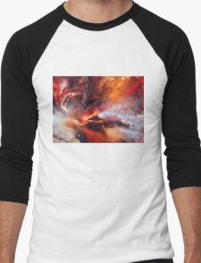 Genesis Abstract Expressionism Art Men's Baseball ¾ T-Shirt