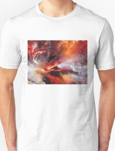 Genesis Abstract Expressionism Art T-Shirt