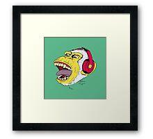 Arctic Monkey of Rock Framed Print