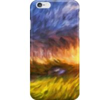 Modern Landscape Van Gogh Style iPhone Case/Skin