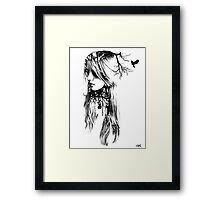 all things deeply Framed Print