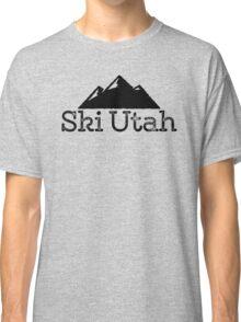 Ski Utah Vintage Mountain Design Classic T-Shirt