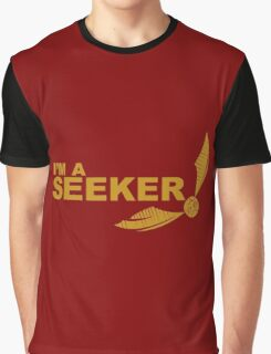 I'm a Seeker - Yellow ink Graphic T-Shirt