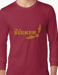 I'm a Seeker - Yellow ink Long Sleeve T-Shirt