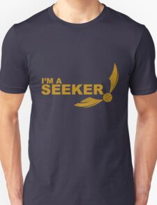 I'm a Seeker - Yellow ink Unisex T-Shirt