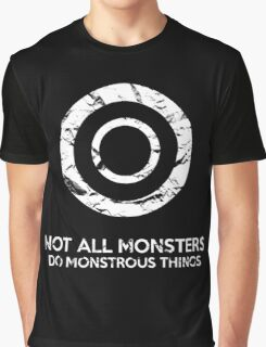 Not All Monsters Do Monstrous Things - Teen Wolf Graphic T-Shirt