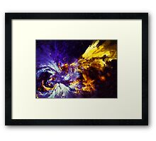 Firefly Abstract Expression Art Framed Print