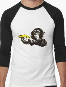 Monkey To Banana guns Men's Baseball ¾ T-Shirt