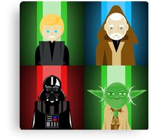Force Square Canvas Print