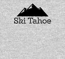 Ski Tahoe Vintage Mountain Design Unisex T-Shirt