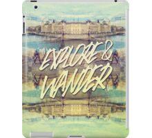 Explore & Wander Seine River Louvre Paris France iPad Case/Skin