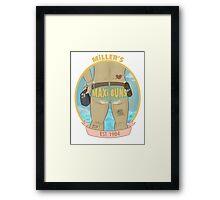 MILLER'S MAXI BUNS Framed Print