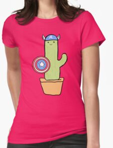 Cactus America Womens Fitted T-Shirt
