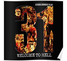 31 The Evil Clowns Horror Movie 2016 Poster