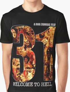 31 The Evil Clowns Horror Movie 2016 Graphic T-Shirt