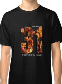31 The Evil Clowns Horror Movie 2016 Classic T-Shirt