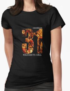 31 The Evil Clowns Horror Movie 2016 Womens Fitted T-Shirt