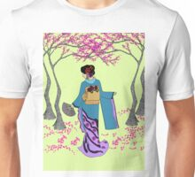 Among the Cherry Blossoms Unisex T-Shirt