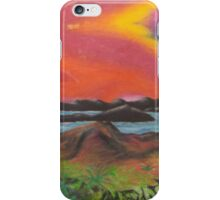 Tranquil Sunset Over Water iPhone Case/Skin
