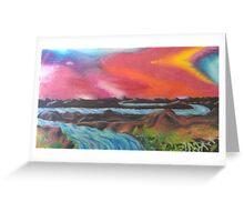 Tranquil Sunset Over Water Greeting Card
