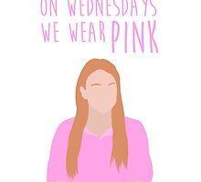 On Wednesdays We Wear Pink   White by Lucy Lier