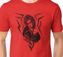 80s Punk Witch V02 - Black Edition  Unisex T-Shirt