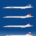 Concorde 1969 To 2003 by © Steve H Clark