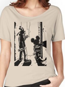 Banksy punk Women's Relaxed Fit T-Shirt