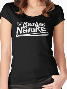 Raider By Nature - Raider Nation Women's Fitted Scoop T-Shirt