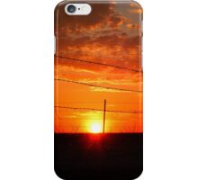 TEXAS SKYLINE iPhone Case/Skin