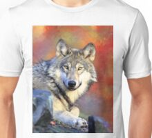 Beautiful Wolf Art Unisex T-Shirt