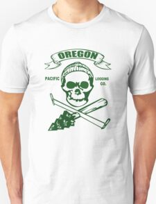 Cool Childrens Oregon Logging funny nerd geek geeky T-Shirt