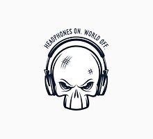Skull and Headphones Unisex T-Shirt