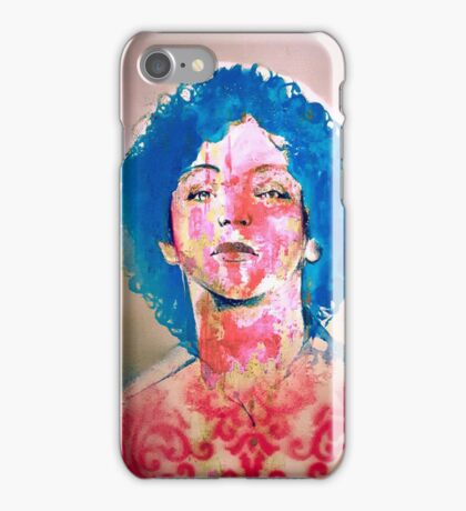 Evolution of Holly #2 iPhone Case/Skin