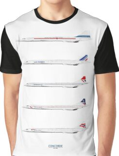 Concorde 1969 To 2003 Graphic T-Shirt