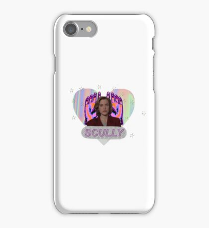 All Hail Dana Scully Logo iPhone Case/Skin