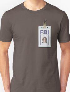 Dana Scully Badge Unisex T-Shirt