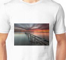 Dusk & Delapidation - Cleveland Qld Australia Unisex T-Shirt