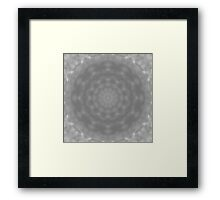 Kaleidoscope of Moody Storm Clouds Framed Print