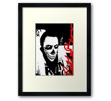 Bad Boy Kiwi Framed Print
