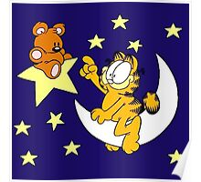 Garfield and Bear Poster