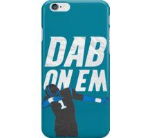 Cam Newton 'Dab On Em'  iPhone Case/Skin