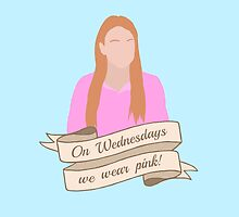 On Wednesdays We Wear Pink Hipster   Pale Blue by Lucy Lier