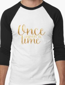 Once Upon a Time - Gold Men's Baseball ¾ T-Shirt