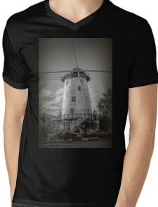The Windmill, Launceston, Tasmania, Australia #2 Mens V-Neck T-Shirt