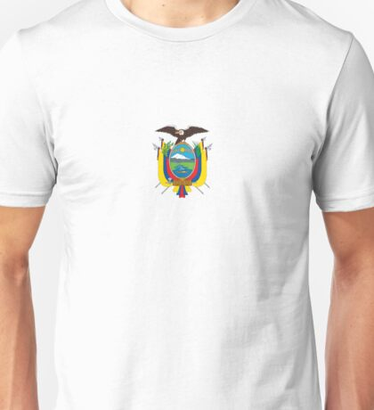 National Coat of Arms of Ecuador Unisex T-Shirt